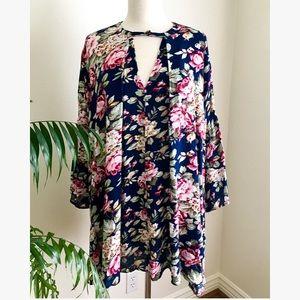 Umgee U.S.A. Long Dress Blouse